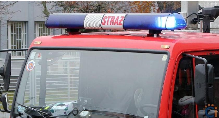 Pozostałe Interwencje, Uwięziony Sienkiewicza pomocą przybyli strażacy - zdjęcie, fotografia