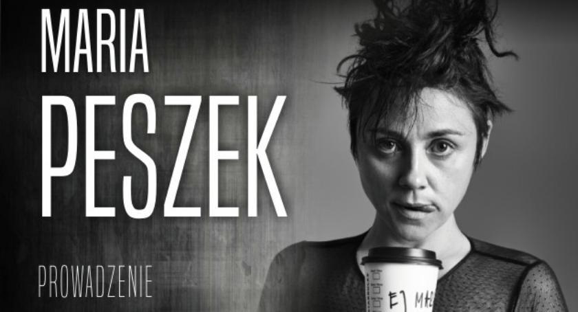 Inne Wydarzenia, Ciechanowie odbędzie spotkanie Marią Peszek - zdjęcie, fotografia