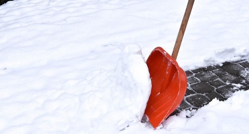 Komunikaty, Intensywne opady śniegu ostrzeżenie powiatu ciechanowskiego - zdjęcie, fotografia