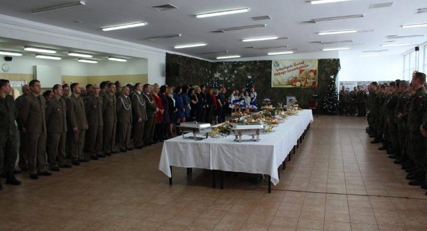 Wojsko, Spotkanie wigilijne ciechanowskich Terytorialsów [fotorelacja] - zdjęcie, fotografia