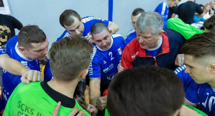 Piłka Ręczna, Jurand Ciechanów trenuje przed rundą rewanżową - zdjęcie, fotografia