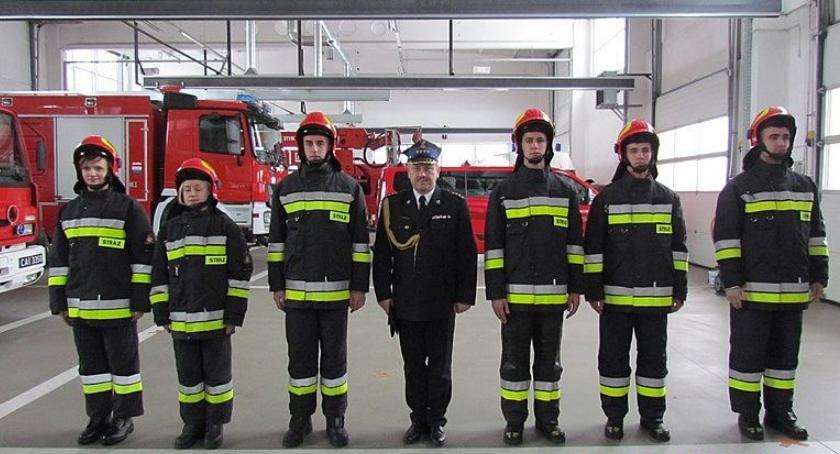 Działania Strażaków, strażacy szeregach Ciechanów [zdjęcia] - zdjęcie, fotografia