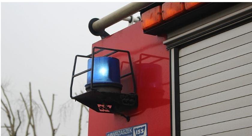 Pożary, Pożar chlewni Ranny jeden pracowników - zdjęcie, fotografia