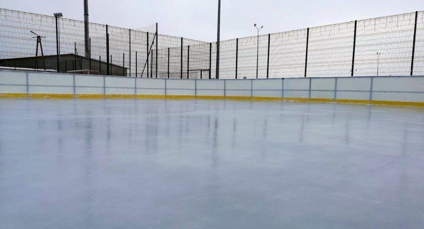 Inne Sporty, Lodowisko Glinojecku gotowe sezonu Zmiany cenniku - zdjęcie, fotografia