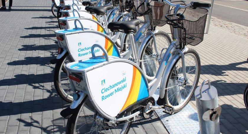 Społeczeństwo, Ciechanowianie zdecydowali gdzie pojawią kolejne stacje roweru miejskiego - zdjęcie, fotografia
