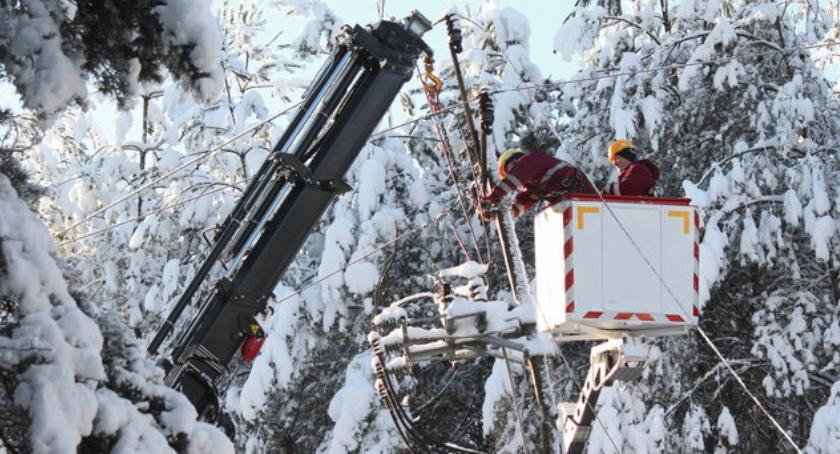 Komunikaty, prądu dwóch gminach ciechanowskiego - zdjęcie, fotografia