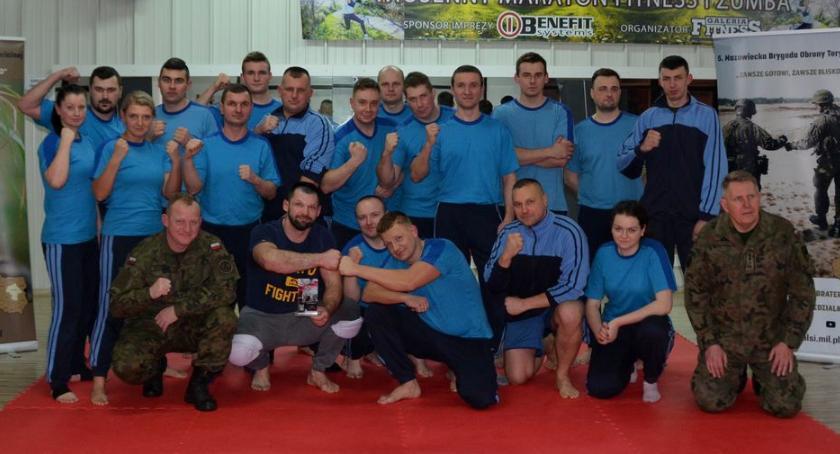Wojsko, Terytorialsi trenowali Szymonem Kołeckim [zdjęcia] - zdjęcie, fotografia
