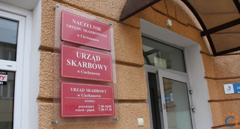 Ekonomia, Spotkanie płatników ciechanowskiej skarbówce - zdjęcie, fotografia