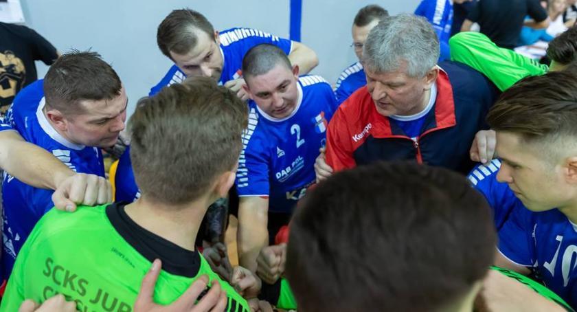 Piłka Ręczna, Jurand rozbity Olsztynie sobotę zagra przed własną publicznością - zdjęcie, fotografia