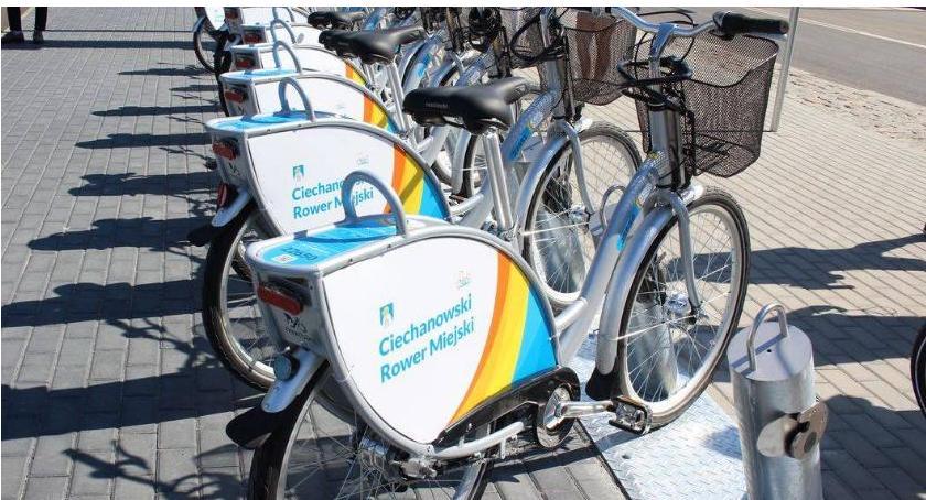 Samorząd, Ciechanowski rower miejski ponad milion Jeden chętny świadczenie usługi - zdjęcie, fotografia