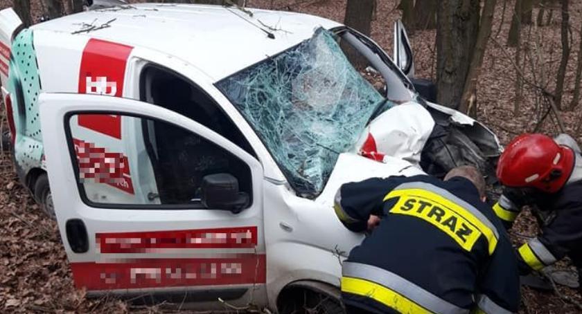 Wypadki drogowe, Tragiczny wypadek gminie Ojrzeń Zginął mieszkaniec Ciechanowa [zdjęcia] - zdjęcie, fotografia