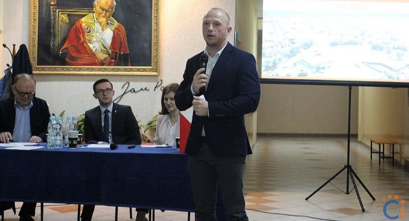 Samorząd, przewodniczący zarządu osiedla Zachód [zdjęcia] - zdjęcie, fotografia