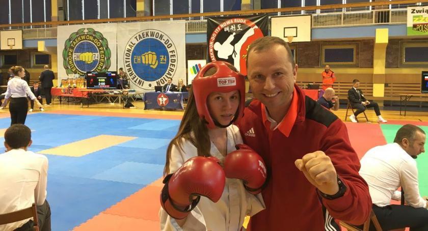 Taekwondo, Matsogi Ciechanów medalami zawodów Pucharu Polski [zdjęcia] - zdjęcie, fotografia