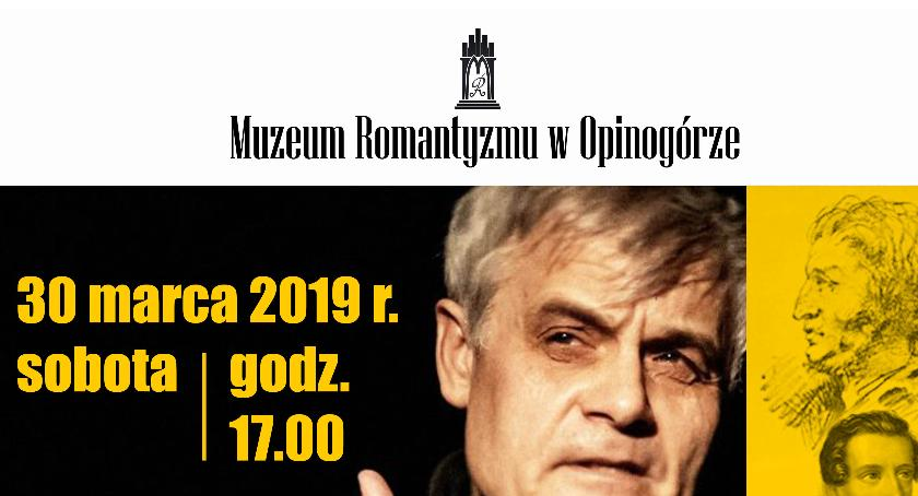Teatr, Muzeum Romantyzmu Opinogórze zaprasza spektakl - zdjęcie, fotografia