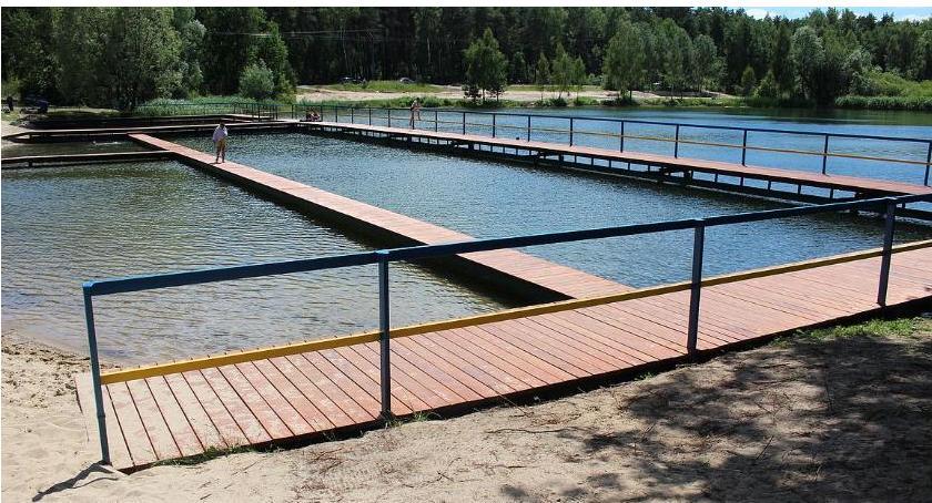 Inwestycje, chętni wykonanie dalszej rewitalizacji kąpieliska Krubin - zdjęcie, fotografia