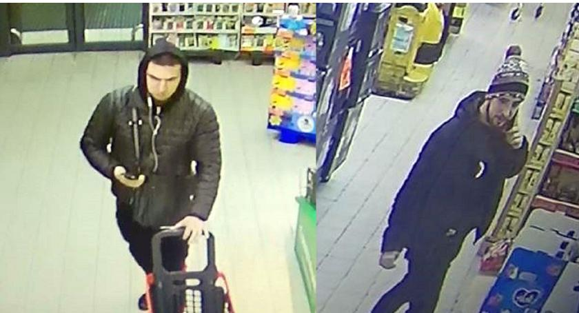 Poszukiwani/Zaginieni, Kryminalni poszukują sprawców kradzieży Publikują wizerunki [zdjęcia] - zdjęcie, fotografia