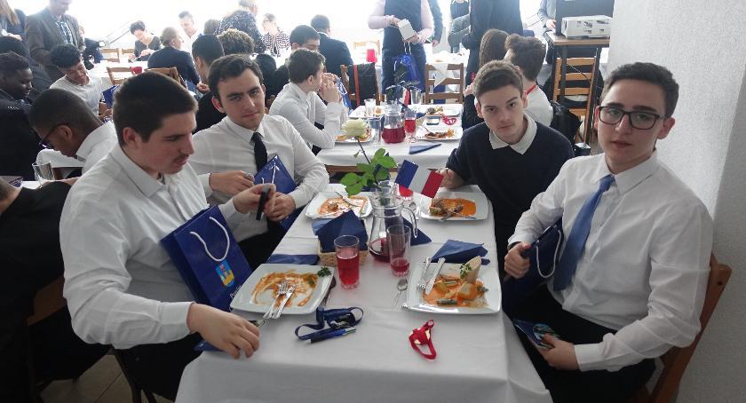 Edukacja, Goście Francji Zespole Szkół Ciechanowie [zdjęcia] - zdjęcie, fotografia