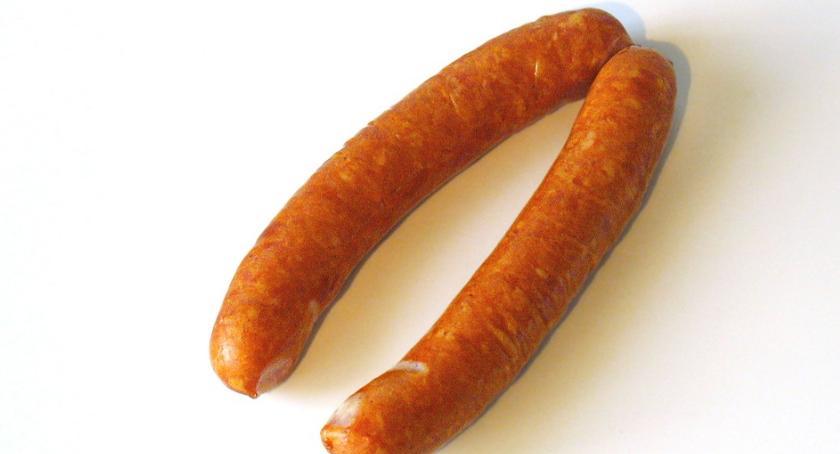 Komunikaty, kiełbasie mięsie wykryto salmonellę ostrzega - zdjęcie, fotografia
