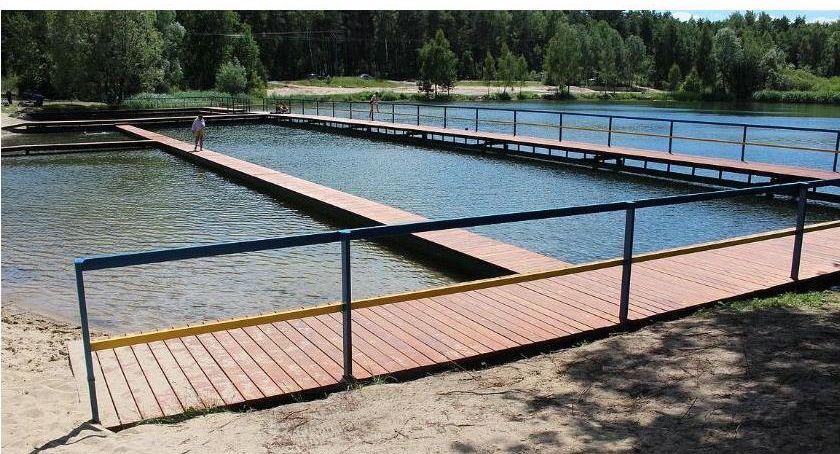 Inwestycje, Umowa podpisana Dalsza rewitalizacja kąpieliska jeszcze przed wakacjami - zdjęcie, fotografia