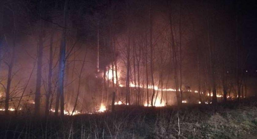 Pożary, Paliło Ciechanowie [zdjęcia] - zdjęcie, fotografia