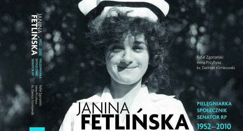 Książki, Powstała książka senator Janinie Fetlińskiej - zdjęcie, fotografia
