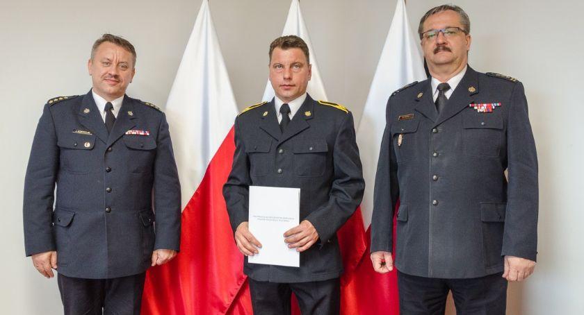Działania Strażaków, Strażak Ciechanowa nagrodzony [zdjęcia] - zdjęcie, fotografia
