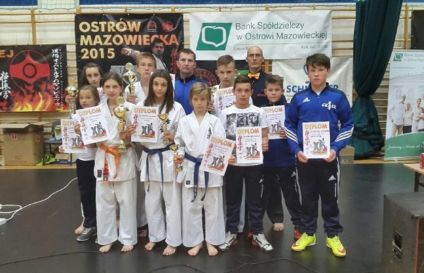 Karate, Kolejne sukcesy karateków Ciechanowa (zdjęcia) - zdjęcie, fotografia