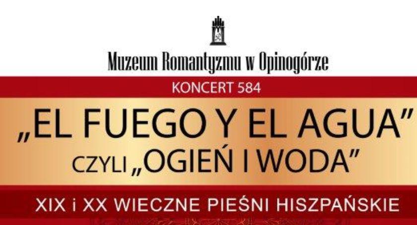 Koncerty, Koncert Niedzielny Opinogórze hiszpańskimi akcentami - zdjęcie, fotografia