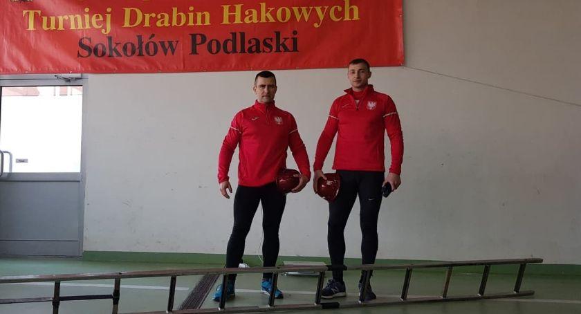 Zawody Strażackie, Strażacy Ciechanowa walczyli Turnieju Drabin Hakowych [zdjęcia] - zdjęcie, fotografia