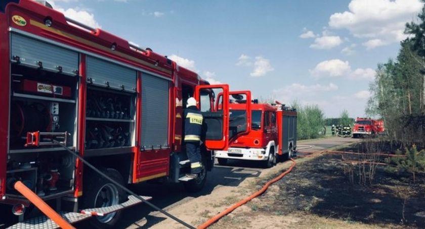 Pożary, Kolejny pożar gminie Glinojeck [zdjęcia] - zdjęcie, fotografia