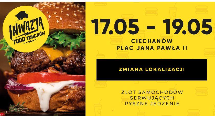 Inne Wydarzenia, Szaleństwo ulicznego jedzenia opanuje Pawla Ciechanowie - zdjęcie, fotografia