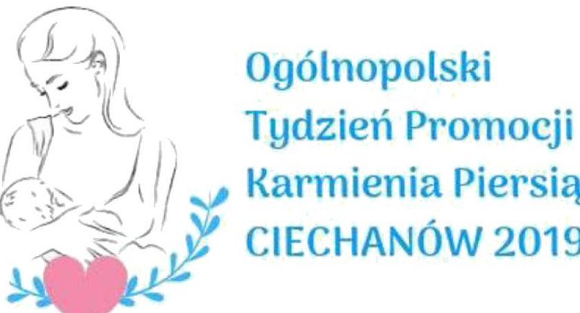 Zdrowie i Uroda, Tydzień Karmienia Piersią akcja edukacyjna Ciechanowie - zdjęcie, fotografia