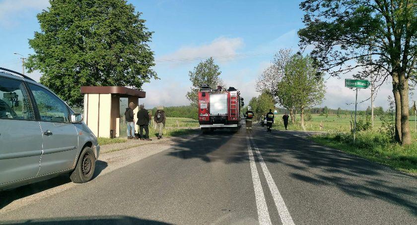 Wypadki drogowe, latek doprowadził wypadku miał prawa jazdy - zdjęcie, fotografia
