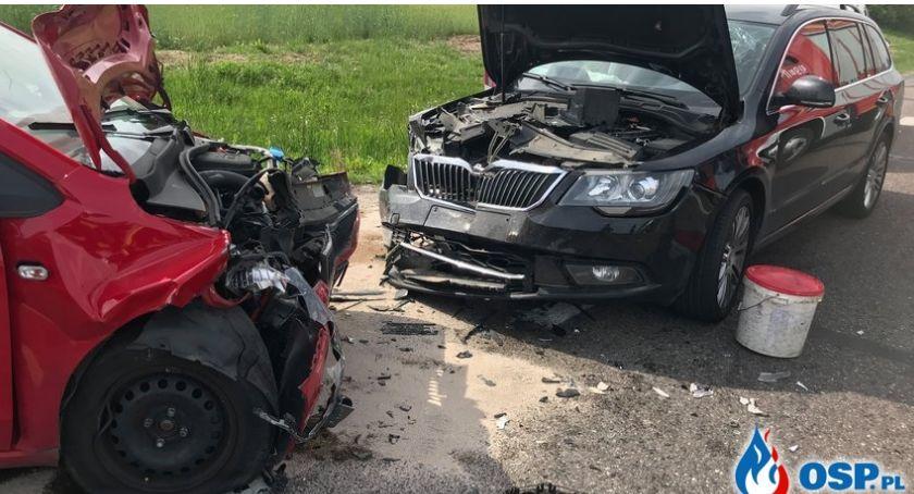 Wypadki drogowe, Karambol Glinojeckiem Zderzyło sześć pojazdów [zdjęcia] - zdjęcie, fotografia