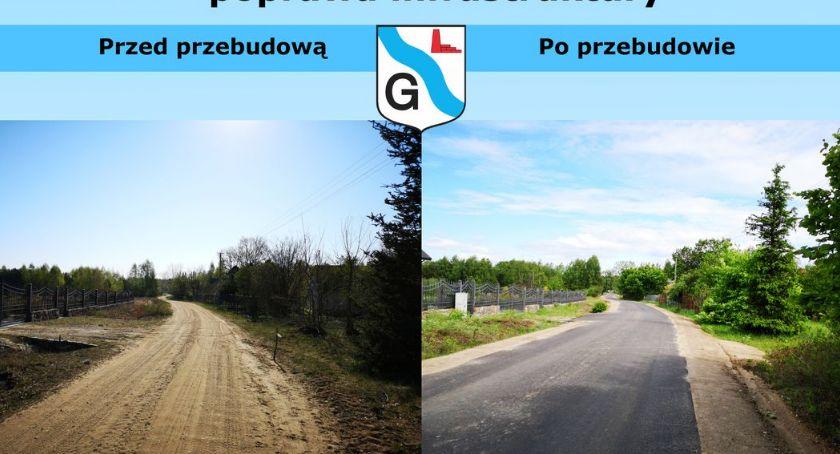 Inwestycje, Droga Glinojeck przebudowie [zdjęcia] - zdjęcie, fotografia