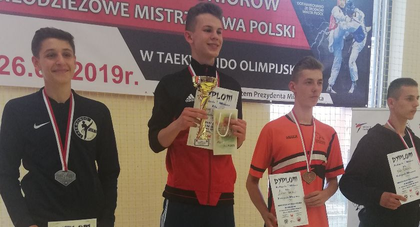 Taekwondo, Ciechanowianin tytułem Mistrza Polski! - zdjęcie, fotografia