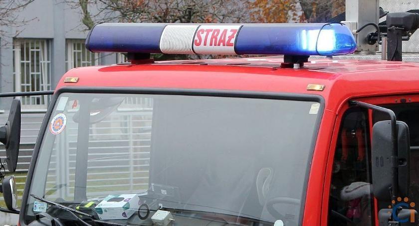 Pozostałe Interwencje, Martwił Strażacy musieli wyważyć drzwi - zdjęcie, fotografia