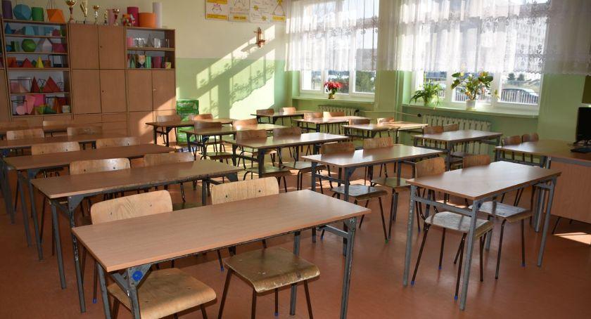 Edukacja, Upały dają znaki Ciechanowskie szkoły skracają lekcje - zdjęcie, fotografia