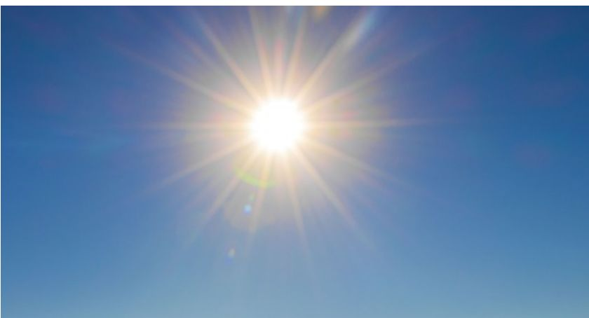 Społeczeństwo, Rekordowo wysoka temperatura Ciechanowie Będzie jeszcze cieplej - zdjęcie, fotografia