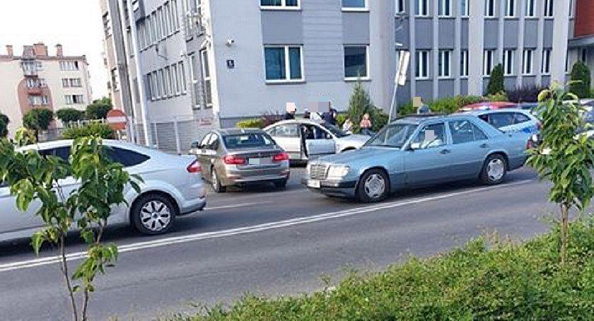 Pijani Kierowcy, rozjechał pieszych centrum Ciechanowa Miał prawie promile! - zdjęcie, fotografia