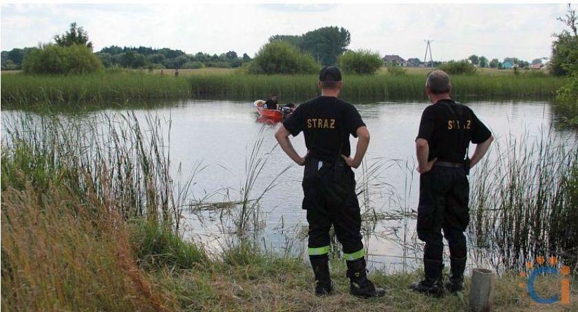 Pozostałe Interwencje, Tragiczne zdarzenie Glinojeck stawie znaleziono zwłoki mężczyzny - zdjęcie, fotografia