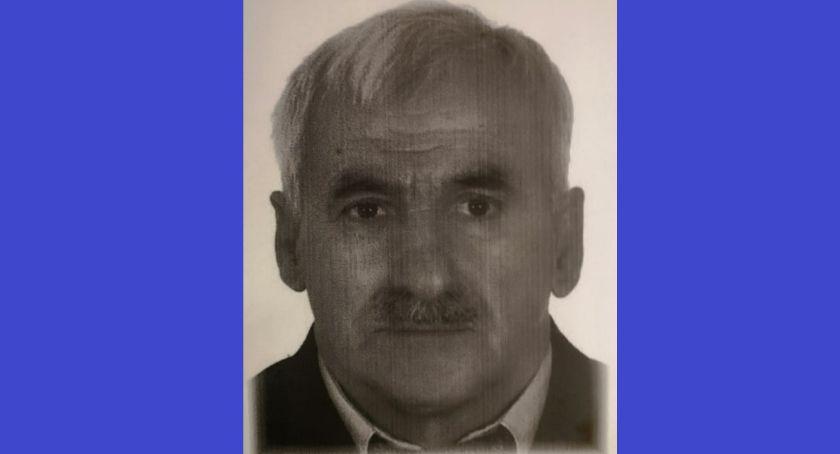 Poszukiwani/Zaginieni, Zaginął latek Mężczyzna chory - zdjęcie, fotografia