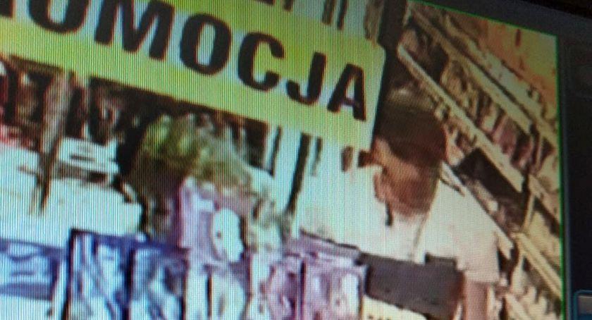 Poszukiwani/Zaginieni, Złodziej Żabce Szuka policja [zdjęcia] - zdjęcie, fotografia