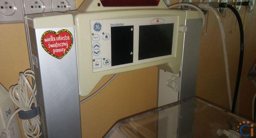 Służba Zdrowia, WOŚP przyjacielem ciechanowskiego szpitala Przekazała sprzęt blisko - zdjęcie, fotografia