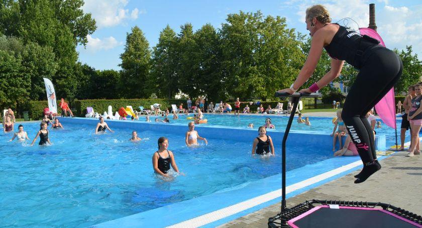 Zumba Fitness, Fitness Party ciechanowskim basenie - zdjęcie, fotografia