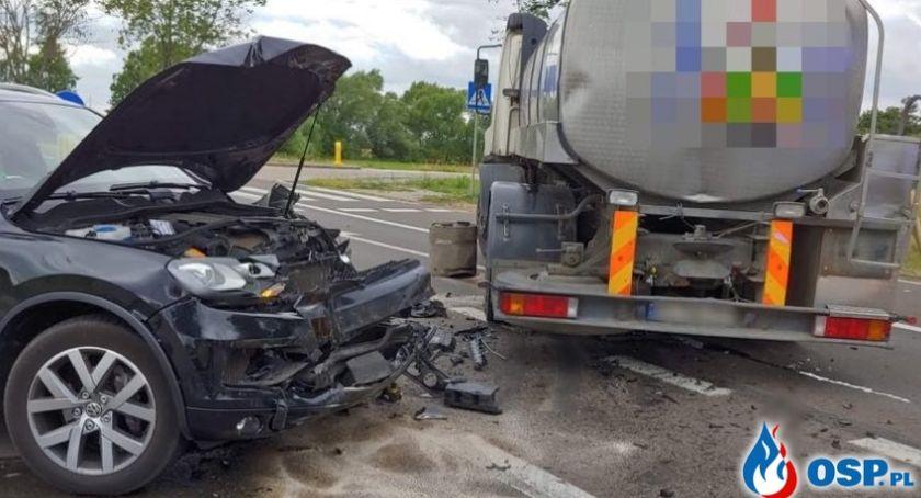 Wypadki drogowe, AKTUALIZACJA Wypadek rondzie [zdjęcia] - zdjęcie, fotografia
