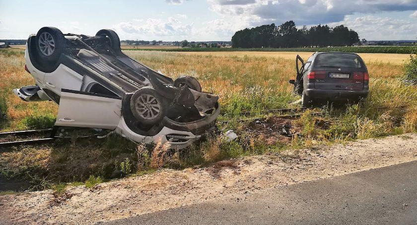 Wypadki drogowe, Cztery osoby ranne wypadku Sprawca pijany [zdjęcia] - zdjęcie, fotografia