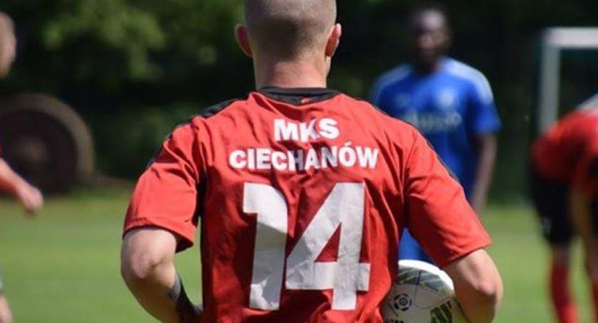 Piłka Nożna, Ciechanów nowego trenera - zdjęcie, fotografia