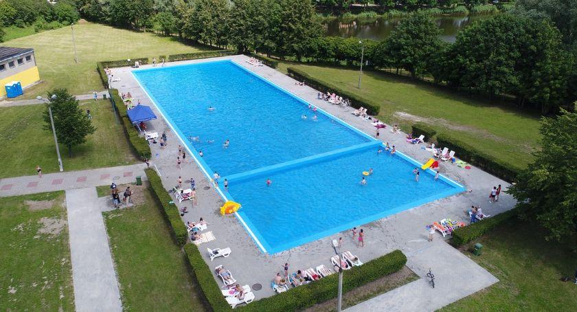 Piłka Nożna, Piłkarski event ciechanowskim basenie - zdjęcie, fotografia