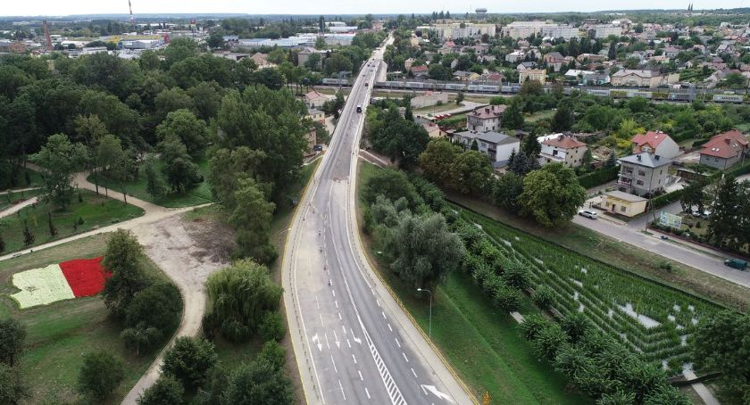 Komunikaty, potwierdzenie wtorek otwarcie wiaduktu Płockiej - zdjęcie, fotografia